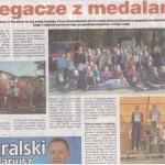 24.10.2014 Biegacze z medalami