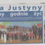 Maj 2015 Koncert Charytatywny Dla Justyny