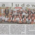Maj 2015 - Szczutowski Festiwal Piosenki i Tańca Ludowego